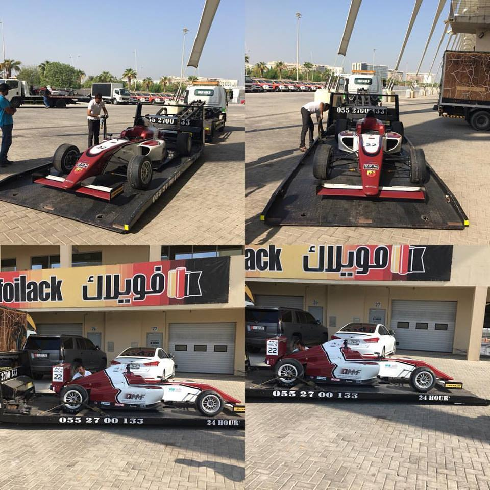 Published January 5, 2018 at 960 × 960 in Vehicle Recovery Services for formula 1 sports car in red.