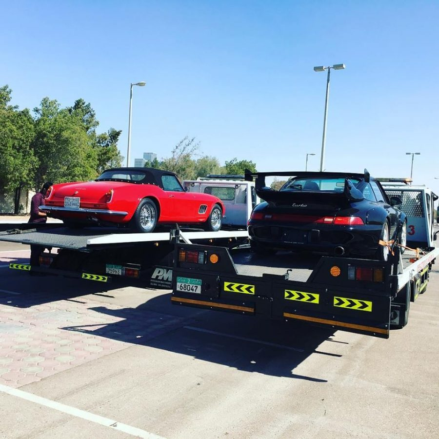 Published January 5, 2018 at 960 × 960 in Vehicle Recovery Services in red and black car.