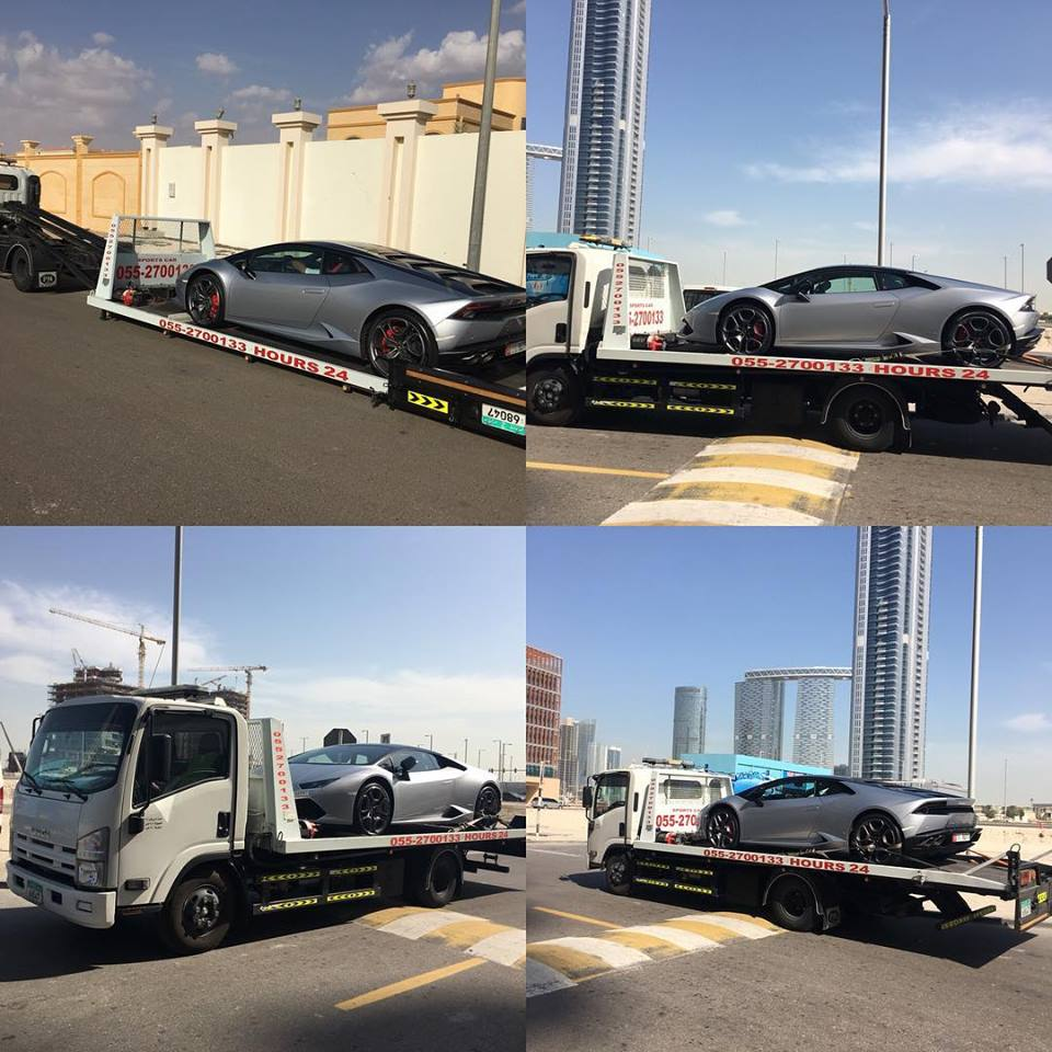 different photo corners of car recovery abu dhabi while working in abu dhabi