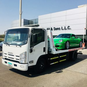 car towing in abu dhabi vehicle registration